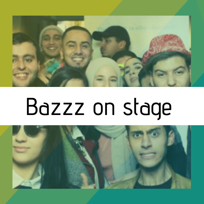 Bazzz on stage 14 en 21 maart 2020