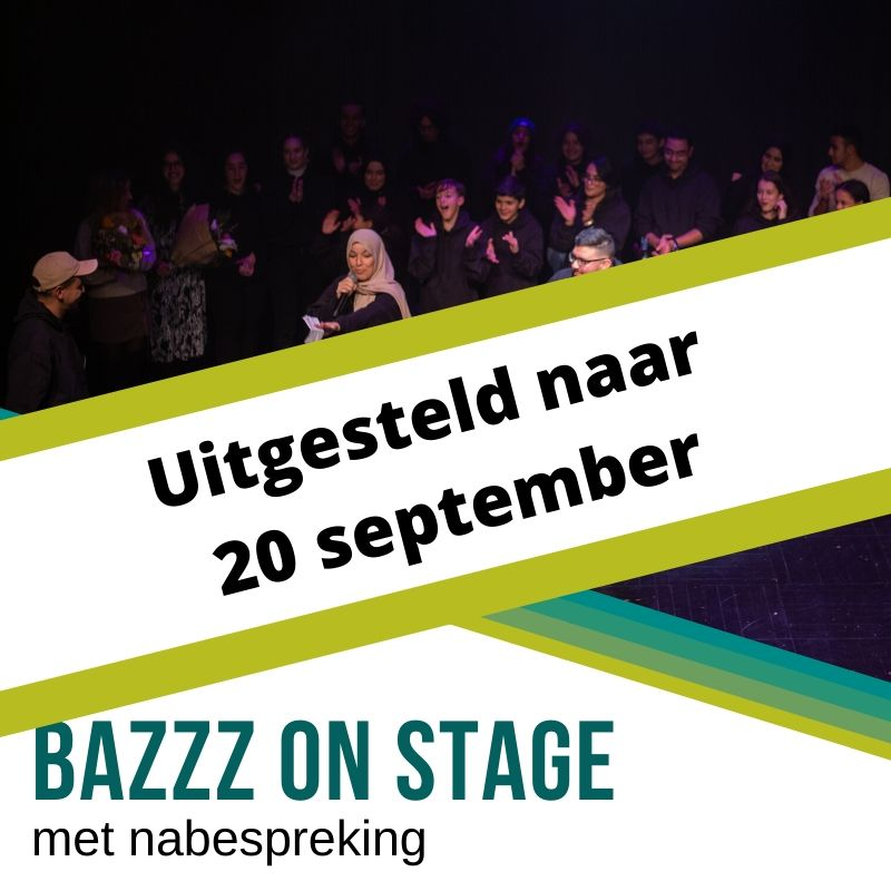 Bazzz on stage 14 maart 2020